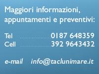 Per contattarci chiama il numero 0187 648353